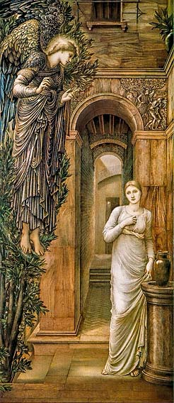 [La Anunciación de Edward Burne-Jones]